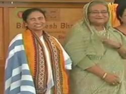 Sheikh Hasina Mamata Banerjee Discuss On Water Distribution Of Tisa And Hilsa Padma