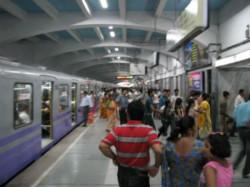 Shadow Khap Panchayat Busy Kolkata Metro