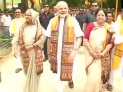 Pm Narendra Modi Says Vishwabharati Is Like Temple