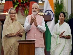 Bangladesh Pm Sheikh Hasina Urges Pm Modi India Take Step On Rohingya Issue