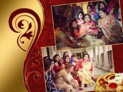 Film Director Raj Chakraborty Weds Actress Subhashree Ganguly See Inside Pics