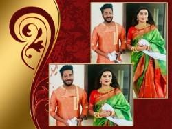 Tollywood Director Raj Wife Subhashree Went Burdwan Ashtomangla Ceremony See Videos