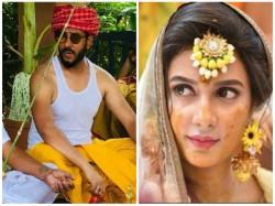 Pictures Raj Subhashree S Gaye Halud Ceremony From Wedding