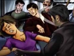 Woman Allegedly Gangraped Four People A Moving Car Uttar Pradesh
