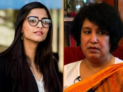 Why Sonam K Ahuja Why Not Anand Ahuja Kapoor Feminist Taslima Nasreen Wants To Know