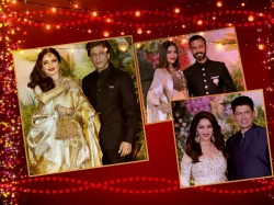Stars Spotted At Sonam Kapoor S Reception Aishwarya Rai Srk Ranbir Katrina Alia Others