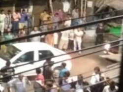 Tmcp Allegedly Attacks Cpm Party Office At Surya Sen Street Area