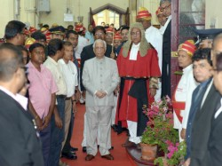 Jyotirmoy Bhattacharya Sworn As The New Chief Justice Calcutta High Court