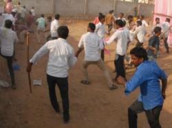 Violence At Dinhata Okrabari Polling Booth During West Bengal Panchayat Election