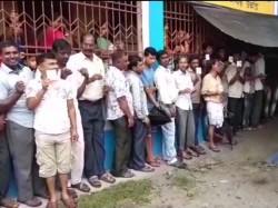 Ballot Box Got Burned At Shikarpur Jalpaiguri Westbengal Panchayat Election