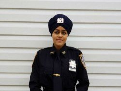 First Sikh Turbanated Woman Police Officer Nypd