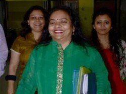 Ratna Chatterjee Attends Before The Ed At The Cgo Complex On Narada Case