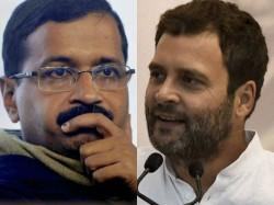 Rahul Gandhi Arvind Kejriwal About Meet The Agreement Seat Sharing Delhi
