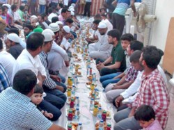 Rss Grand Iftar Party Facing New Block Activists Say No Functions Allowed Inside The Venue