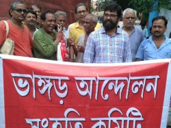 Four Activists Bhangar Release Granted Bail At The Date Alik Chakraborty S Custody