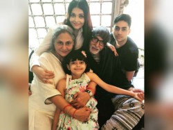 Aishwarya Rai Posts The Cutest Family Pic On Jaya Amitabh Bachchan S Anniversary