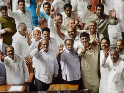 Ministers From Kumaraswami Cabinet Take Oath On Wednesday
