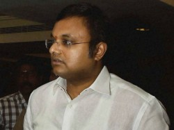 Ed Has Filed Charge Sheet Against Karti Chidambaram On Wednessday