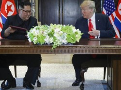 Yr Old Singapore Supreme Court Table Used Trump Kim Summit