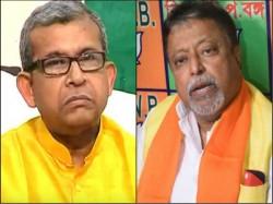 Tmc Leader Manas Bhunia Criticizes Bjp Leader Mukul Roy From Janagalmahal