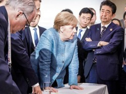The Picture Which Gives The Essence This Year S G 7 Summit