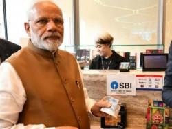 Pm Narendra Modi Used Sbi Rupay Card A Bid Promote Digital India In Singapore