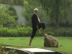 Prime Minister Modi Shares His Fitness Challenge Video Nominates Hd Kumaraswamy