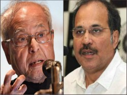 Adhir Chowdhury Says Pranab S Son Should Speak Up On Rss Event Too