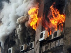 Devastating Fire At Barasat S City Mall On Sunday Morning
