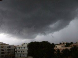On The Second Day Monsoon There Was Heavy Rainfall