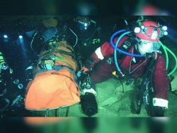 On The Second Day Thiland Cave Rescue 4 More Boys Freed