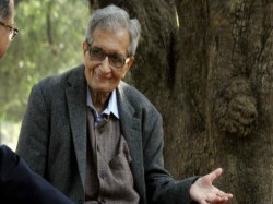 Niti Aayog Vice Chairman Challenges Amartya Sen On Development India Under Modi Regime