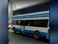 Subhendu Adhikari Initiates Return The Double Decker Bus Kolkata
