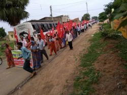 Fir Against Tripura Left Leaders Over Protest Rally On 24th July