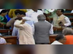 Bjd Walks Of Parliament Before Debate On Trust Vote Begins Against Narendra Modi