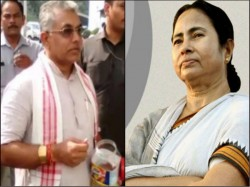 Dilip Ghosh Attacks Mamata Banerjee On Her Decision On Spending