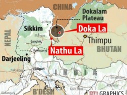 Beijing Claims 89 Sq Km Doklam Plateau China Bhutan Border