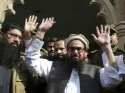 Lashkar E Taiba Chief Hafiz Saeed Casts His Vote Lahore Pakistan Election
