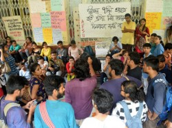 Jadavpur University S Student Starts Hunger Strike On Demand Entrance Test