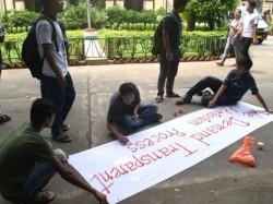 Jadavpur University S Student Continuing Hunger Strike After Vc S Letter Also