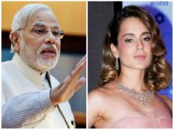 Kangna Ranaut Praises Modi Amid Rumours Joining Politics