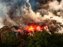 The Kilauea Volcano Exploded At Its Summit On Thursday Dest