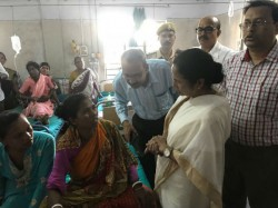 Cm Mamata Banerjee Visited The Midnapur Medical College Hospital