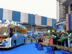 West Bengal Cm Set Flag Off Banglashree Express Buses On Wednesday