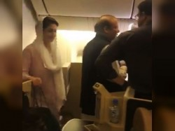 Nawaz Sharif Maryam Nawaz Arrested From Lahore Airport