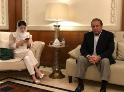 Ex Pak Prime Minister Nawaz Maryam Sharif Are Returning Pakistan Today
