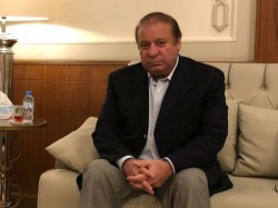 Ex Pak Prime Minister Nawaz Post Video Message His Supporters In Maryam Sharif S Twitter