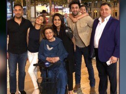 Kapoor Family Celebrates Neetu Kapoor S Birthday Paris See Pics