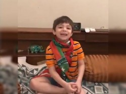 Video A Child Requesting Vote Imran Khan Pakistan S General Election