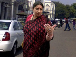 Smriti Irani Denied Pay Parking Fees New Delhi